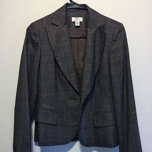 Loft Dark Gray Blazer